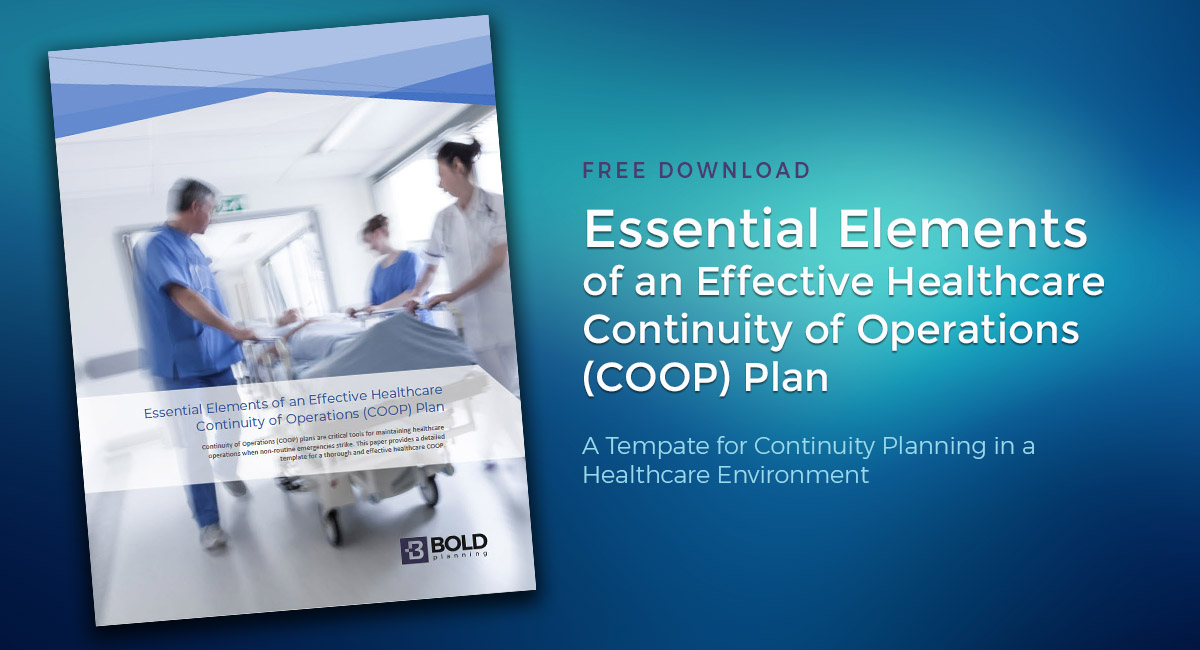 Healthcare Business Continuity