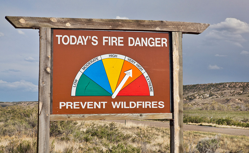 Drought outlook suggests negative impacts on fire season in US